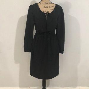 Black knee length dress size small